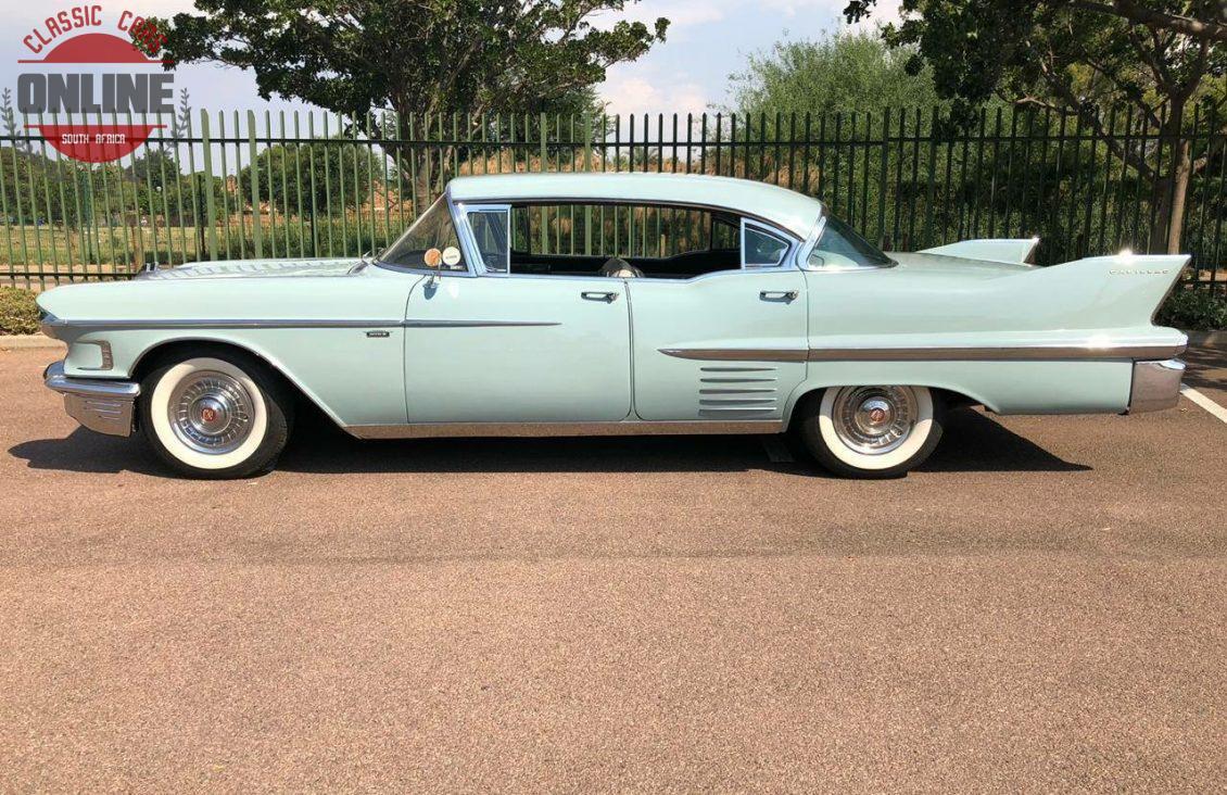 Classic Cars Online 1958 Cadillac Sedan De Ville Pillarless